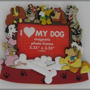 Disney 'I ♥ Love My Dog' Frame